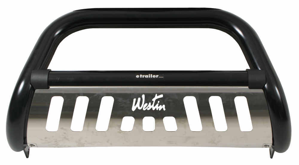 Westin 33-0905 Ultimate Black Powdercoated Stainless Steel Grille Guard by Westin
