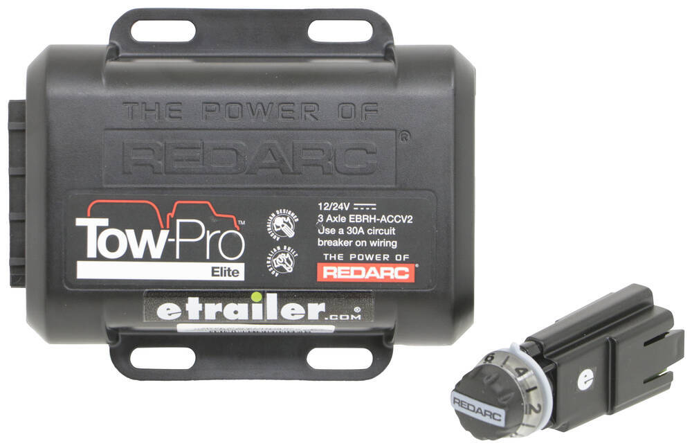Redarc 360 Degrees Brake Controller - 331-EBRH-ACCV2