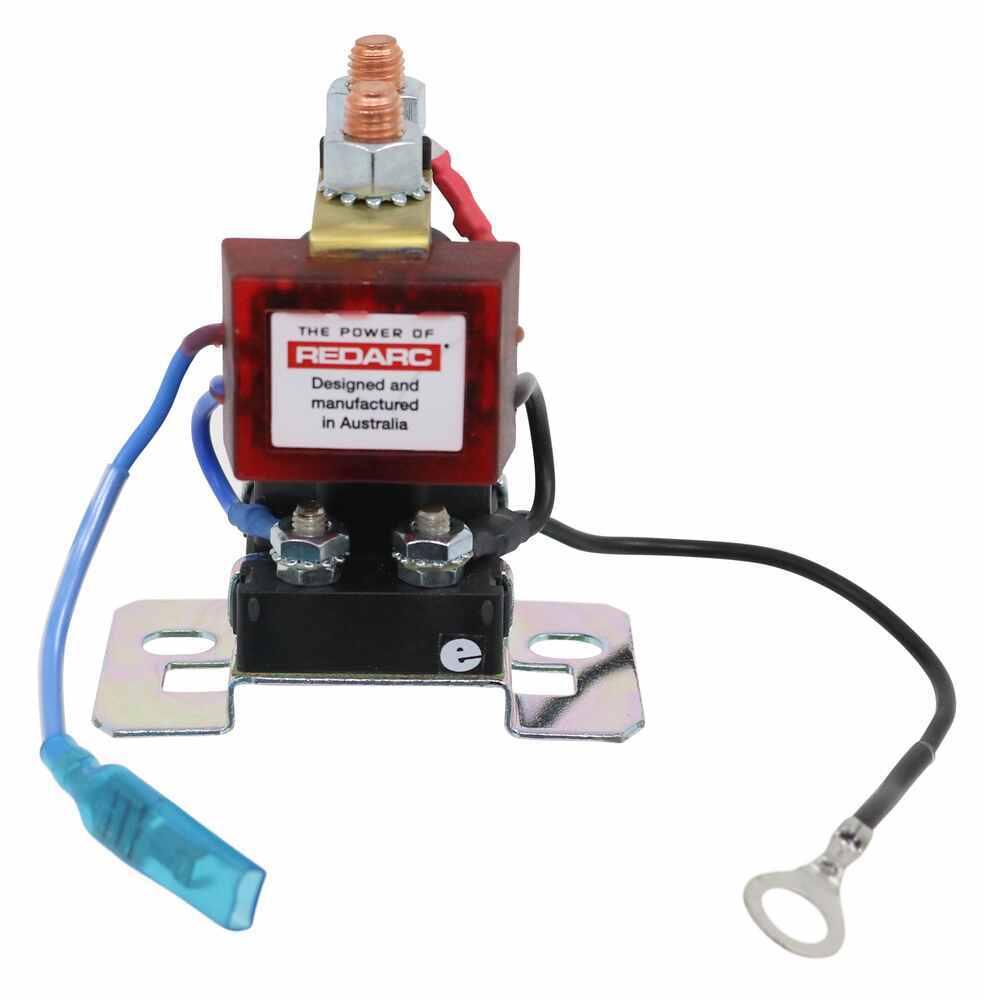 Redarc Smart Start Battery Isolator With Wiring Kit