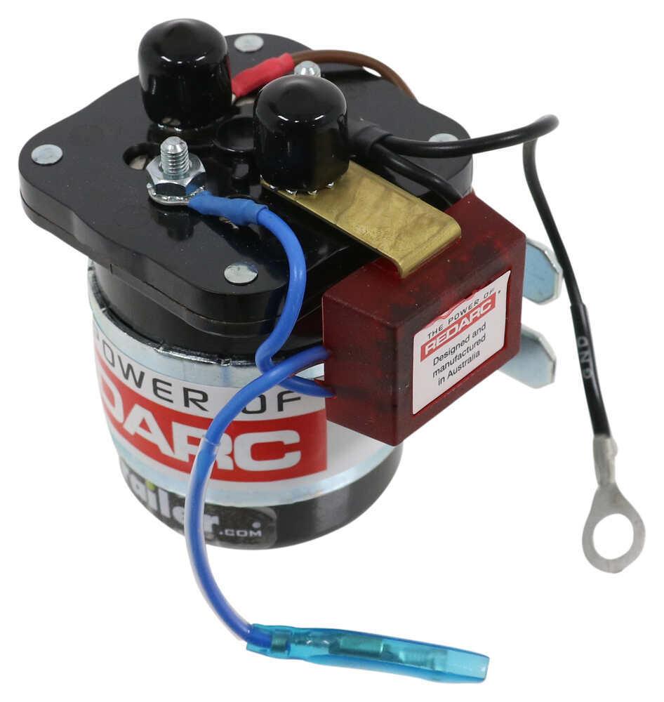 Redarc Smart Start Battery Isolator - Dual Sensing