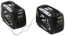etrailer 3,800-Watt Portable Inverter Generators - 3,000 Running Watts - Gas - Manual Start