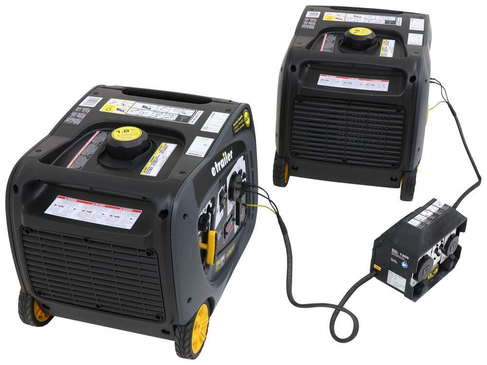 etrailer 6,000-Watt Portable Inverter Generators - 5,500