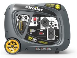 etrailer 3,200-Watt Portable Inverter Generator - 2,900 Running Watts - Gas - Manual Start