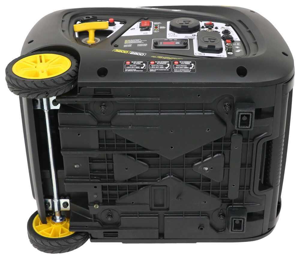 etrailer 3,200-Watt Portable Inverter Generator - 2,900