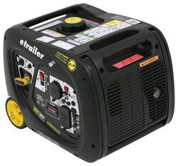 etrailer 3,200-Watt Portable Inverter Generator - 2,900 Running Watts - Gas - Remote Start