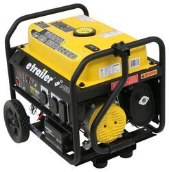 etrailer 4,500-Watt Portable Generator - 3,600 Running Watts - Gas - Remote Start