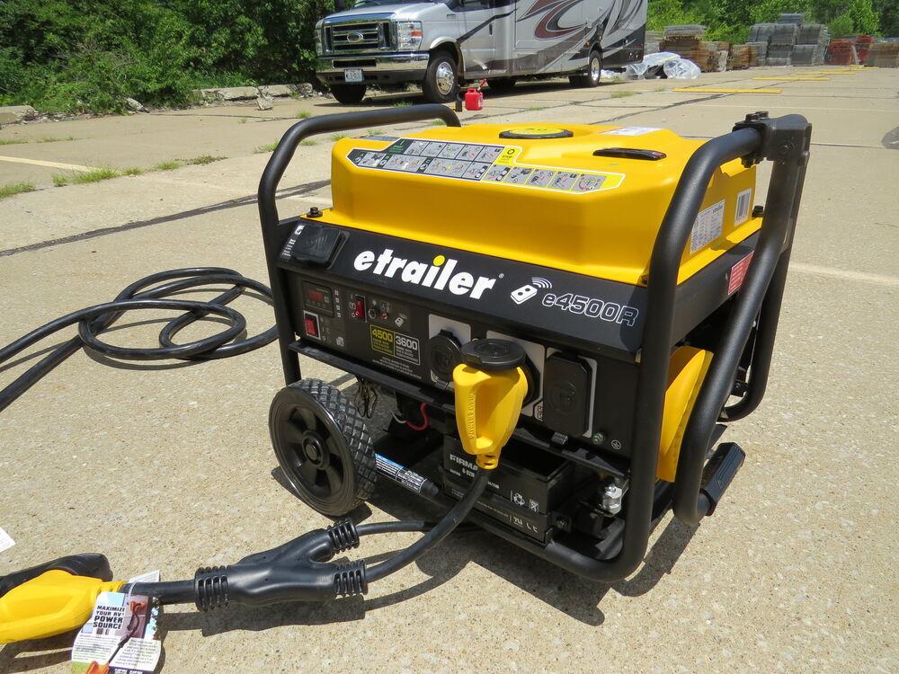 Etrailer 4 500 Watt Portable Generator 3 600 Running Watts