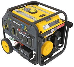 etrailer 4,500-Watt Portable Generator - 3,600 Running Watts - Propane or Gas - Electric Start