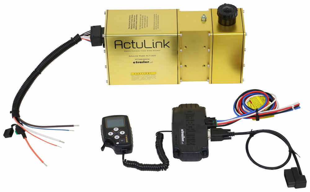 DirecLink NE Brake Controller with ActuLink Electric Hydraulic Actuator - Proportional - Disc Brakes Under Dash Mount 335ACT-1600-DLNE
