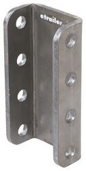 Lock N Roll 3-Position Adjustable Channel Bracket - Weld On - 11,000 lbs