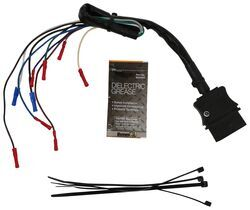 replacement plow harness repair kit - 9-pin female for fisher/western  snowplow