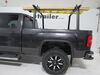 Buyers Products Truck Bed Ladder Rack w/ Load Stops - Black Aluminum - 800 lbs No-Drill Application 3371501680