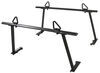 Buyers Products Truck Bed Ladder Rack w/ Load Stops - Black Aluminum - 800 lbs Heavy Duty 3371501680