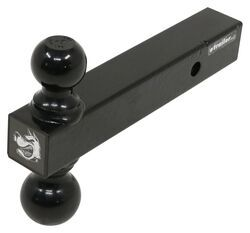 Tow Ready 80404 Hollow Shank 2 Dual-Ball Ball Mount with Black Balls