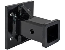 Buyers Products Black <strong>Receiver</strong> Tube 2&quot; I.D. x 6&quot; Long Welded To 1/2&quot; Mounting Plate - 3371804055