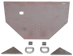 "Buyers Products Fabricators Hitch Plate - 3/4"" x 34-1/2"" x 22-1/2"""