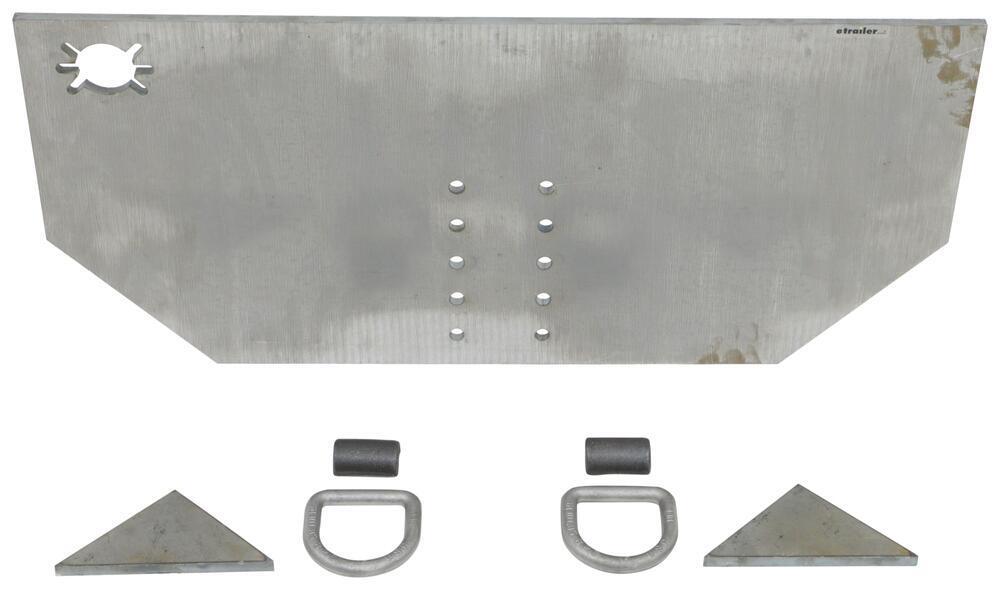 "Buyers Products Fabricators Hitch Plate - 1/2"" x 34"" x 15-1/2"" 3371809040"