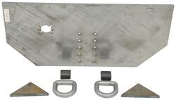 "Buyers Products Fabricators Hitch Plate - 5/8"" x 34"" x 15-1/2"""