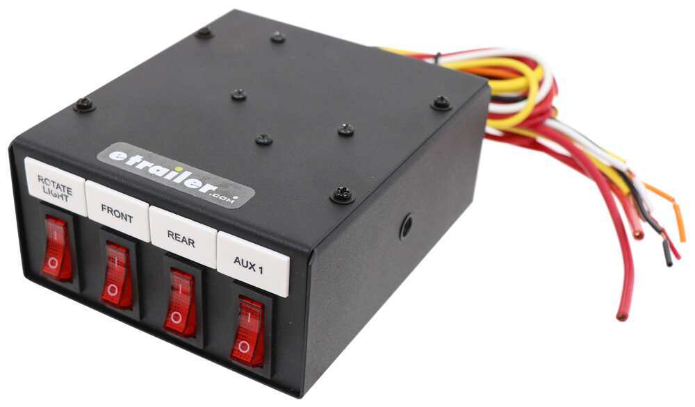 Buyers Products 6391104 Illuminated 4-Function On Switch Box