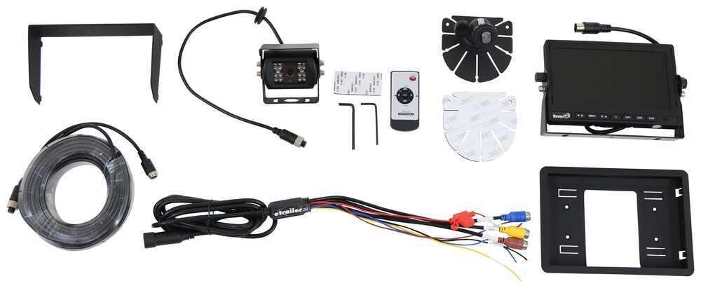3378883000 - Dashboard Mounting Bracket Buyers Products Backup Camera