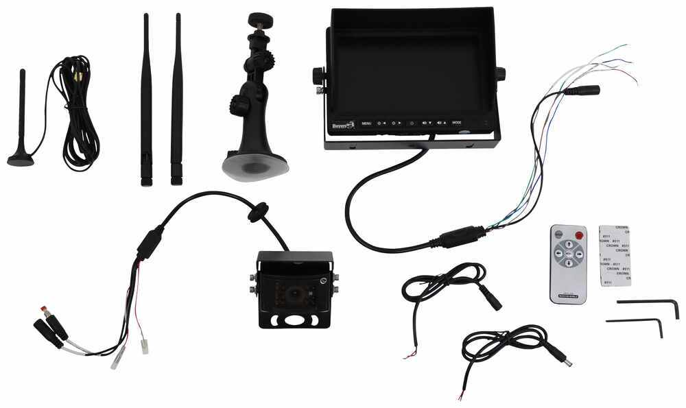 Buyers Products RV Observation Camera System - Wireless - Rear Mount Wireless Signal 3378883200