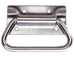 "Buyers Products Zinc Chest Handle - 4"" x 2-3/4"""