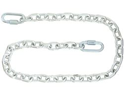 "Buyers Products 3/16"" x 48"" Class 2 Trailer Safety Chain with 2 Quick Link Connectors"