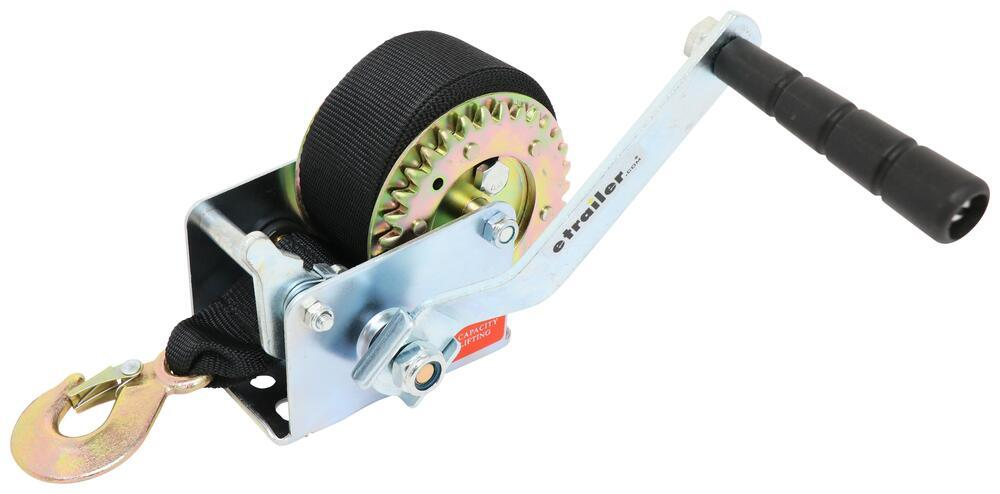 337HW800S - Standard Hand Crank Buyers Products Trailer Winch