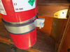 """Buyers Products Adjustable Tank Holder - 6-1/2"""" to 7-1/4"""" Diameter Oxygen Tank Rack,Fire Extinguisher Holder 337TH612714"""