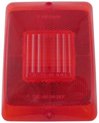 Replacement Lens for Bargman Tail Light - 84, 85, 86 Series - Red Marker