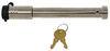 infiniterule gooseneck trailer locks base lock hitch for gen-y coupler w/ 4 inch round tube - stainless steel