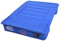 AirBedz Truck Bed Air Mattress w Rechargeable Battery Pump - Blue - 6' to 6-1/2' Bed