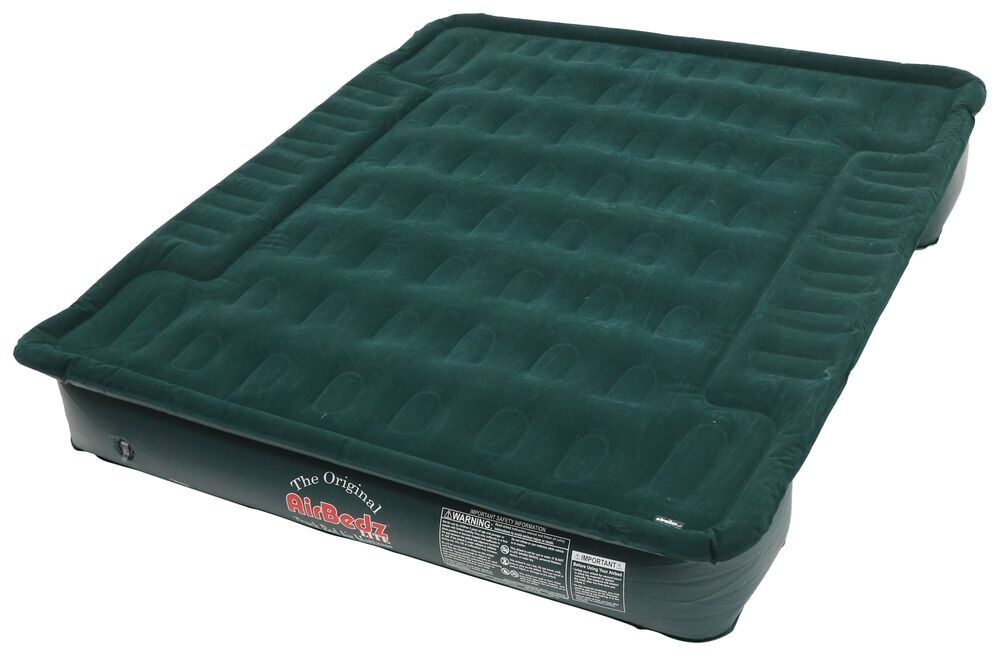 "AirBedz Lite Truck Bed Air Mattress w/ Portable 12V Pump - 76"" Long - Green - 8' Bed 6 Foot Bed,6-1/2 Foot Bed,8 Foot Bed 341008"