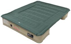 AirBedz Pro3 Truck Bed Air Mattress w/ Portable 12V Pump - Green/Tan - 6' to 6-1/2' Bed