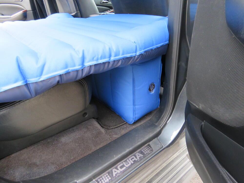 Pittman Outdoors Rear Seat Air Mattress w Portable 12V Pump