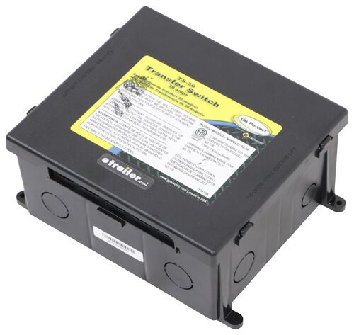 Go Power Automatic Transfer Switch Plastic Case 30 Amp 120v Go Power Rv Transfer Switch 34264403