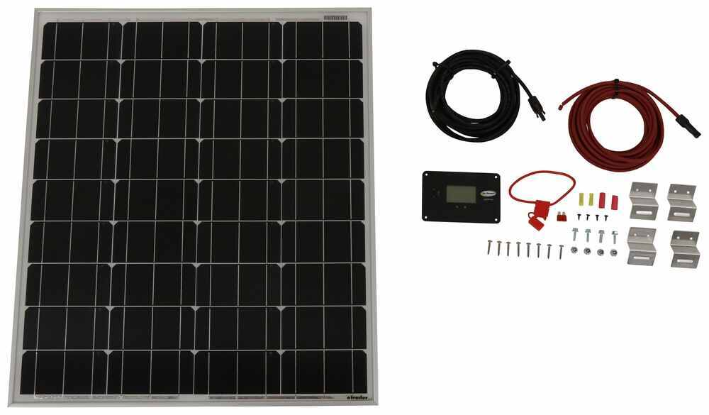 Go Power Roof Mounted Solar Kit - 34272627