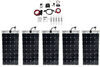 Go Power Solar Flex Charging System with MPPT Solar Controller - 500 Watt Solar Panels 500 Watts 34275012