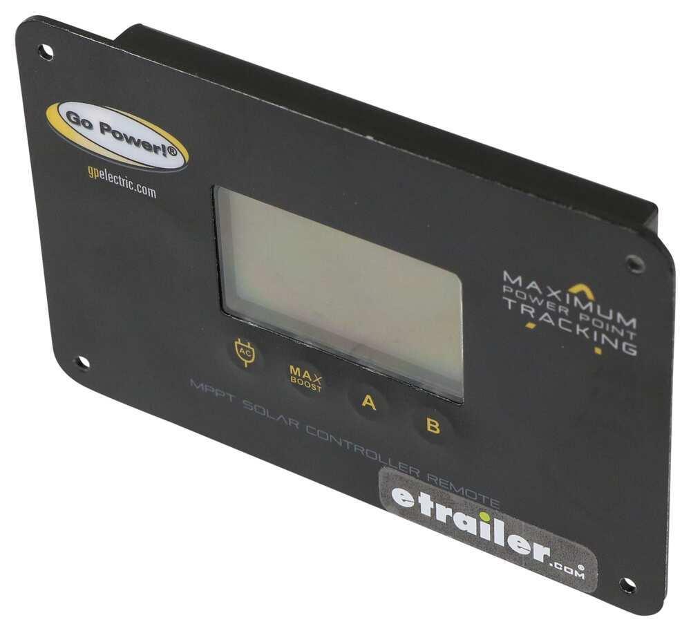 Remote for Go Power MPPT Solar Controller - Flush Mount Remote Control 34280436