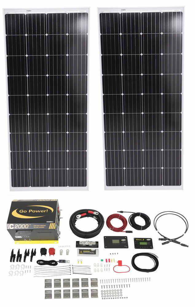 Go Power RV Solar Panels - 34282184