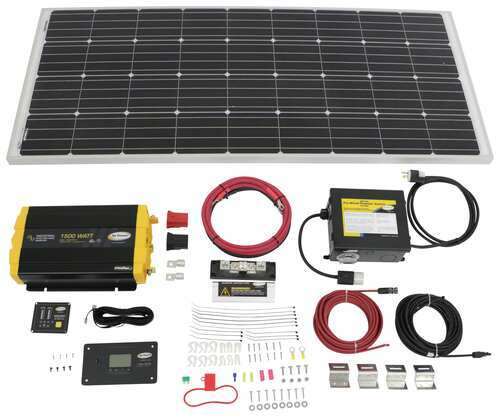 Go Power Weekender Isw Solar Charging System 170 Watt