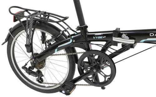 e1a038b8851 Dahon Vybe D7 Folding Bike - 7 Speed - Aluminum Frame - 20