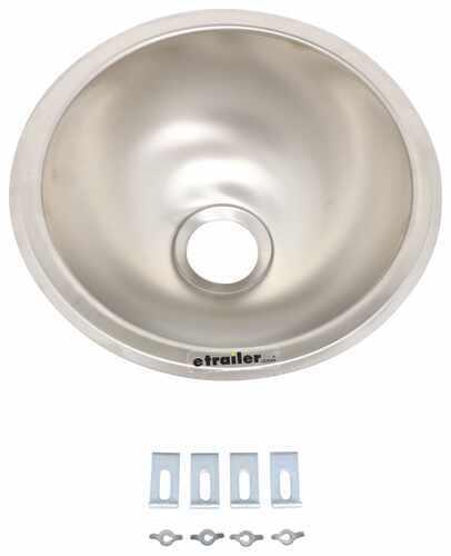 Lasalle Bristol Sink Stainless Steel 9 Round Lasalle Bristol Rv