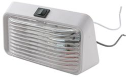 Bargman Porch / Utility Light with Switch - Clear Lens