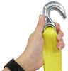 "SmartStraps Recovery Strap w/ Hooks - Retractable - 2"" x 14' - 3,000 lbs 14 Feet Long 348171"