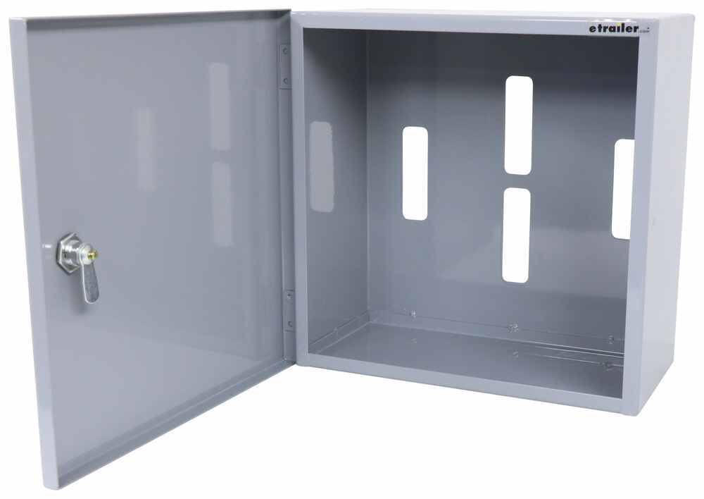 "CargoSmart Locking Cabinet for E-Track or X-Track Systems - 12"" x 12"" x 6"" Cabinet 3481725"