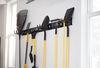 0  e track cargosmart e-track rails horizontal vertical or x-track - matte black steel 667 lbs 5' long