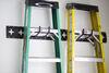 0  e track cargosmart e-track rails horizontal or vertical x-track - matte black steel 667 lbs 5' long