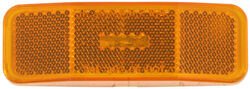 Bargman 99 Series Trailer Clearance, Side Marker Light with Reflector - Amber