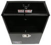 RC Manufacturing T-Series Trailer Tongue Toolbox - A-Frame - Steel - 2.6 Cu Ft - Black Black 350980
